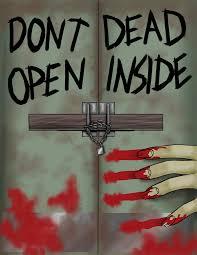 don u0027t open dead inside card by tsukiko88 on deviantart