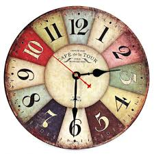wall clocks modern home decor large wall clock 3d retro clock