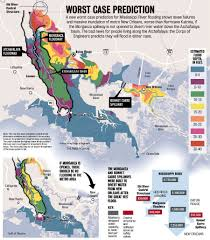 Orleans France Map by Mississippi River Flooding In New Orleans Area Could Be Massive If