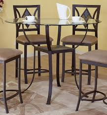 counter dining chairs black diamond counter dining set my furniture place