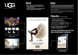 ugg australia charity sale ugg ugg live sensation promo pr ad by
