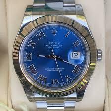 rolex steel oyster bracelet images Rolex datejust ii 41mm steel oyster bracelet 18k white gold fluted JPG