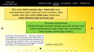 media pembelajaran powerpoint 2013 keperawatan cpr basic life