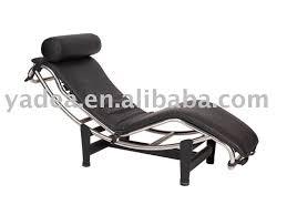 le corbusier chaise lounge chair lc4 modern la chaise pony italine