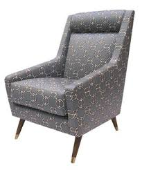 Reading Chairs by Maverick Reading Chair In Hermes Fabric Transitional Mid Century