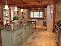 Pictures Of Kitchen Designs With Islands Natural Materials Create Farmhouse Kitchen Design Farmhouse