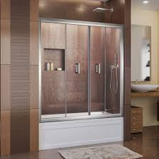 Shower Doors Bathtub Bathrooms Design Sliding Shower Doors For Tubs Bathtub Glass