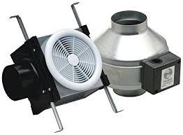 Fantech Pb110 Inline Exhaust Bath Fan Kit 110 Cfm Remote Mount Fan