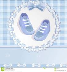 blue baby shower baby boy background royalty free stock photography image 27361287