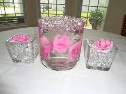 water centerpieces underwater flower vases with water water design