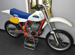 ktm motocross bikes for sale 1984 ktm 495 mx bike urious