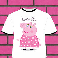 auntie pig iron on transfer peppa pig iron on transfer peppa