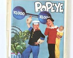 Popeye Olive Halloween Costume Popeye Costume Etsy