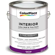 colorplace grab n go interior paint semi gloss finish onyx