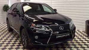 lexus sports car uk 2013 13 lexus rx450h 3 5 v6 f sport hybrid 5dr cvt auto for
