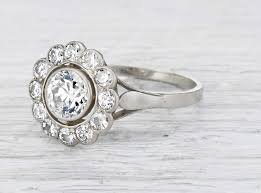 simple vintage engagement rings keeping a low profile erstwhile jewelry