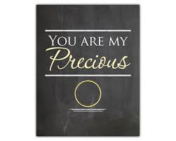 wedding quotes lord of the rings you are my precious lord of the rings print marriage print