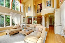 High Ceiling Living Room by Impressive High Ceiling Living Room Antique Furniture And Columns