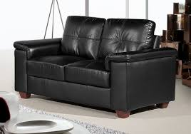 Stockholm Leather Sofa Stockholm 2 Seater Black Leather Sofa Leather Sofa Land