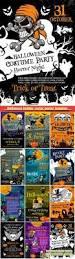 halloween holiday vector poster template scary pumpkin lantern