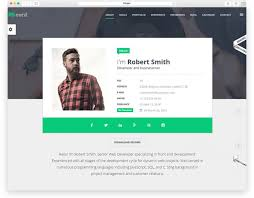 Html Resume Templates Top 10 Best Responsive Html Resume Templates 2016 Edition Libthemes