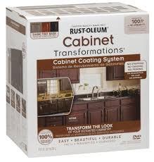 Kitchen Cabinet Refinishing Kits Rust Oleum Cabinet Transformations Refinishing Kit At Menards