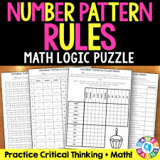 pattern practice games number pattern rules logic puzzle 5 oa 3 games 4 gains