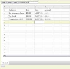 django creating tables use django and jquery to create a spreadsheet application