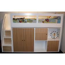 buy kids space saver loft bed frame 1500h online in australia