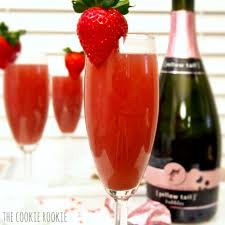 strawberry mimosas the cookie rookie