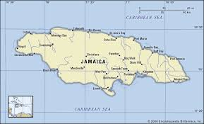 jamaica physical map map of jamaica a detailed jamaican map to guide you