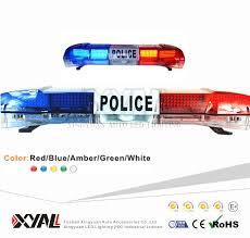 led emergency light bars cheap blue red amber white corloful waterproof light bar led police strobe