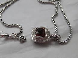 diamond box necklace images David yurman deep yellow petite albion citrine pave 39 diamond 18 jpg