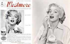 westmore cosmetics 1953 publicité pour la westmore cosmetics marilyn pour