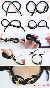 chain rope necklace diy images Diy nautical rope chain knot necklace jpg