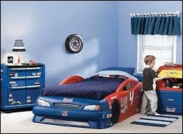 Blue Car Bed Decorating Theme Bedrooms Maries Manor Ride On Cars