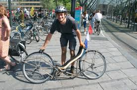 Recliner Bicycle by Testing New Limits In Bicycle Frame Design For Recliners This Is