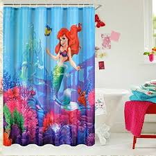 The Little Mermaid Bathroom Set Little Mermaid Bathroom Decor Amazon Com