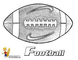 Gutsy American Football Coloring Pages Quarterbacks Free Football Coloring Page