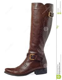 womens boots leather brown leather boots royalty free stock image image 19113376