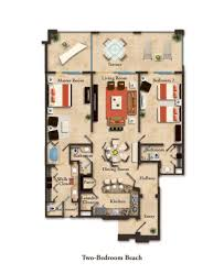 Bathroom Addition Floor Plans by Suite Layouts Garza Blanca Residence Club