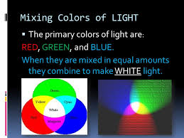 Primary Colors Of Light Light And Color Ppt Video Online Download