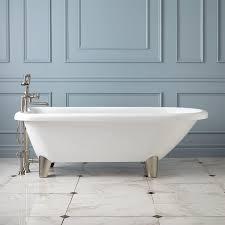 70 hoyt acrylic clawfoot tub modern bathroom