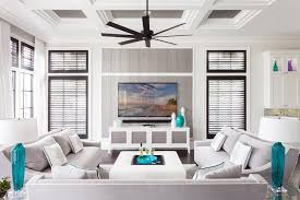 transitional style ceiling fans modern coffered ceiling family room transitional with louvered