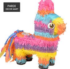cheap party supplies small rainbow pinata kids birthday party beating props