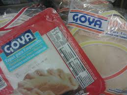 where to find empanada wrappers foodie finds goya frozen products el paso veg snob