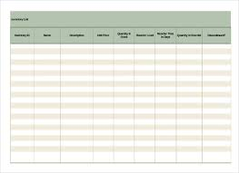 Free Excel Templates Inventory List Inventory Checklist Template Success 6 Inventory
