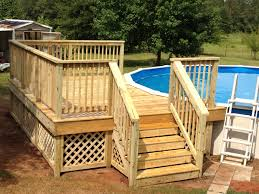 decks for above ground pools cost pool deck estimator uniquely
