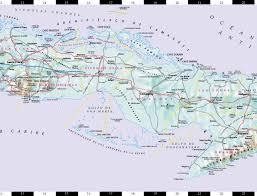Cuban Map Streetwise Cuba Map Laminated Country Road Map Of Cuba