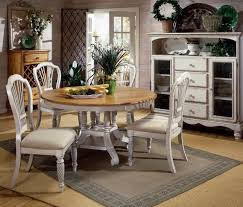 five piece dining room sets dining room set 5 piece round table wood leaf antique white 4